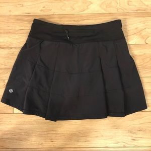 Lululemon Pace Rival Skirt with shorts